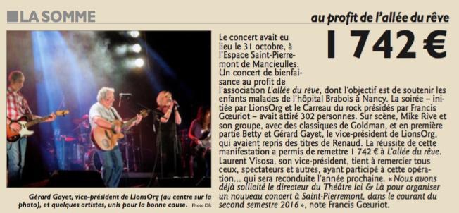 Concert Mancieulles