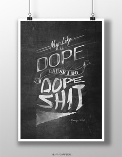 Dope_poster_mockup