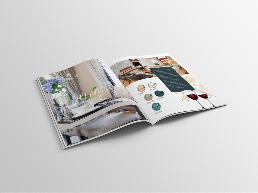 A4 Magazine Mockup - CILTrends_minglespread