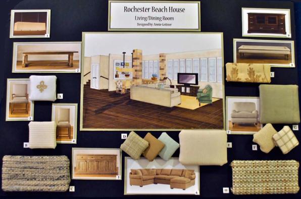 Interior Design Portfolio Examples For University