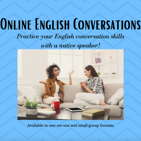 English Conversations: Now Happening Online