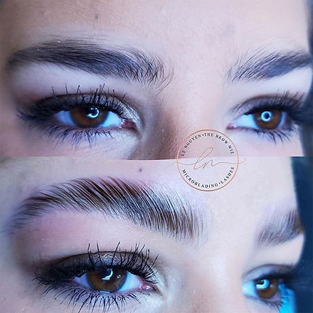 Brow Lamination gives your brows an upli