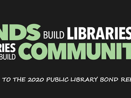 Bonds Build Libraries, Libraries Build Communities
