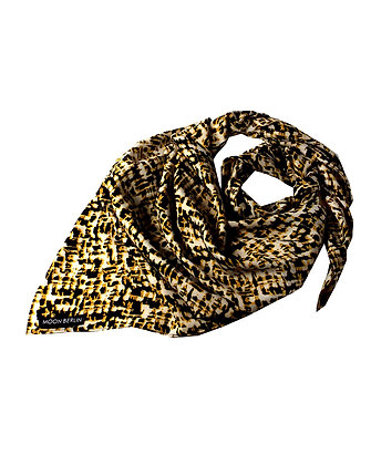 Midnight Safari Silk Scarf