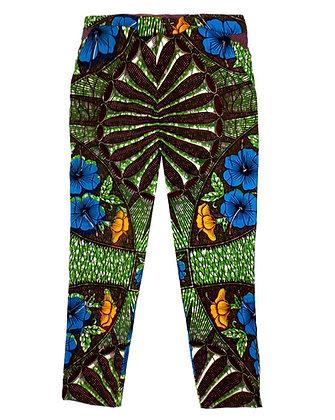 Flower Jungle Africa Pants