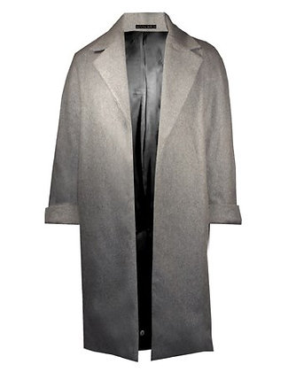 Heated Cashmere Coat Grey