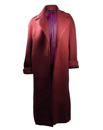 Cashmere Coat Burgundy
