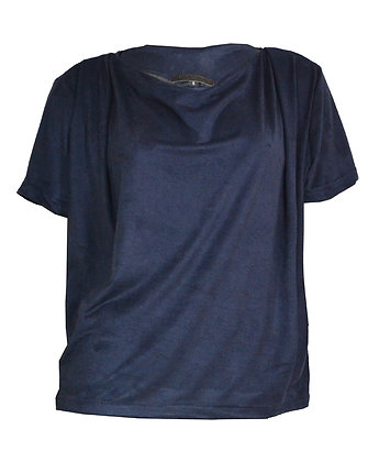ALCANTARA TOP NAVY