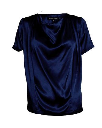 Silkblouse Sleeve Navy