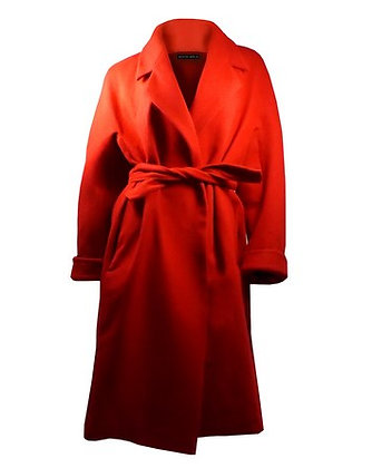 Cashmere Coat Red