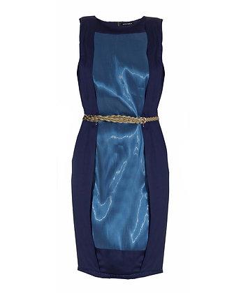 ILLLUMINATED DRESS BLUE