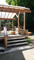 pavers and decking