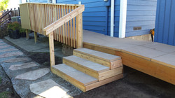 concrete deck stairs