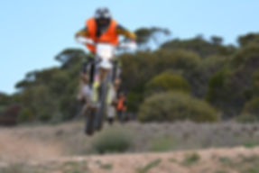 An Ariel MCC of SA Sweep Rider on an event