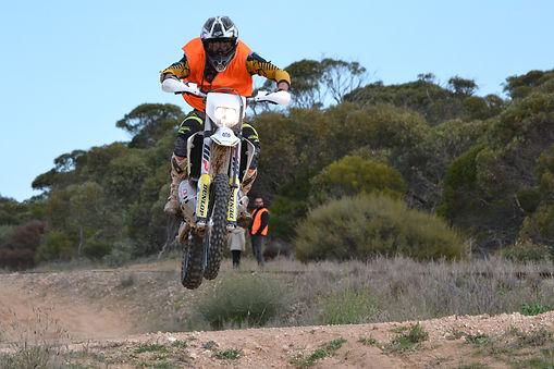 An Ariel MCC of SA Sweep Rider on an event