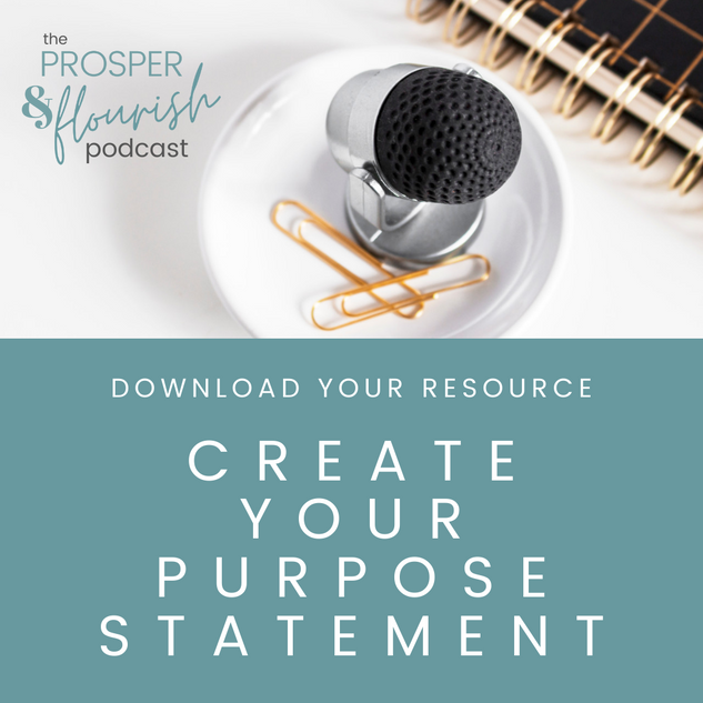 Create your Purpose Statement