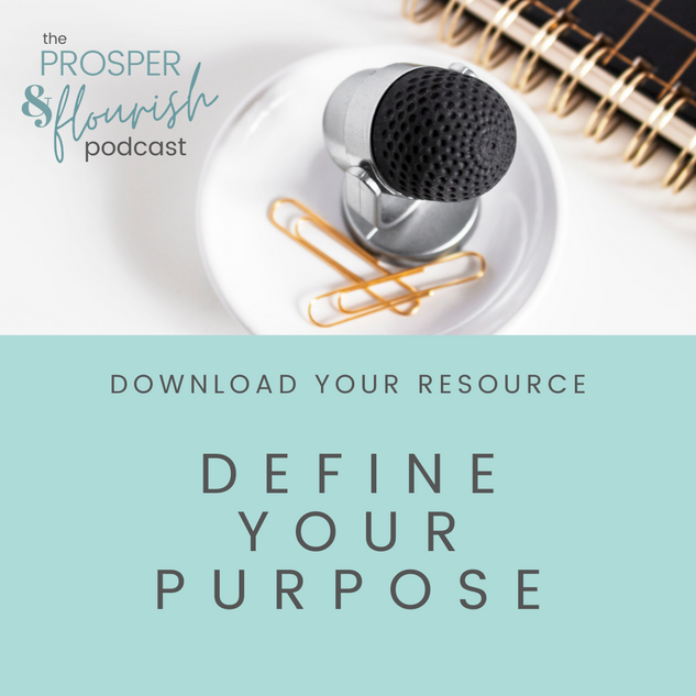 Define your Purpose