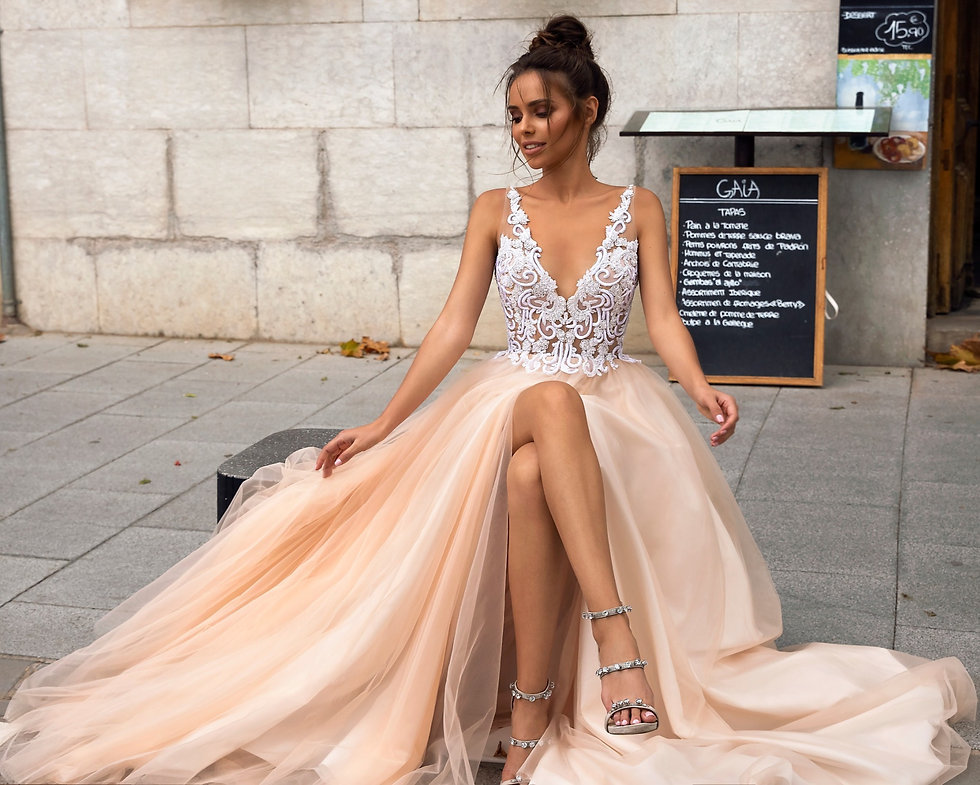 Brautkleid von Tina Valerdi