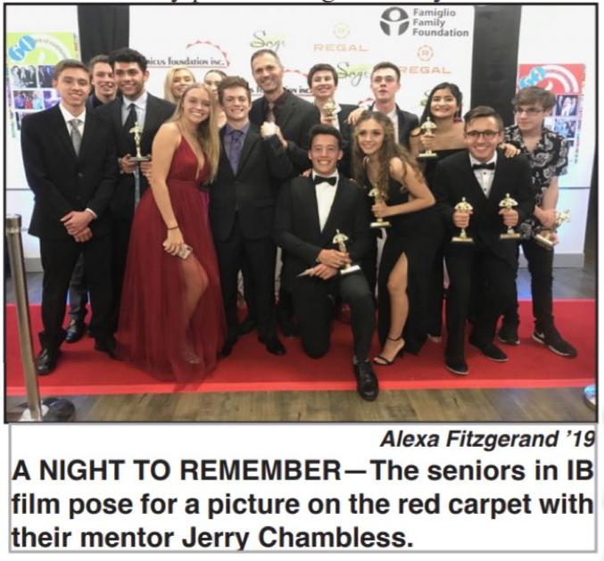 IB Film Awards recognizes students' efforts