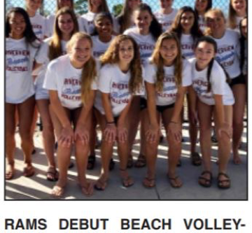 First beach volleyball season brings state qualifiers