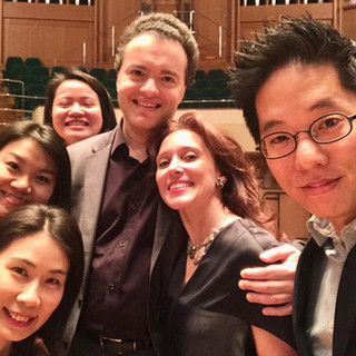 After the concert in Hong Kong , December 2018