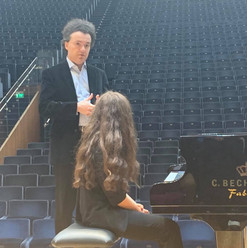 Meeting with Piano Students in Milan
