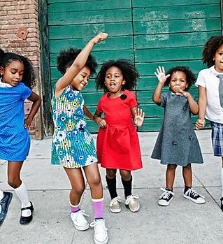Dança Americano africano Crianças