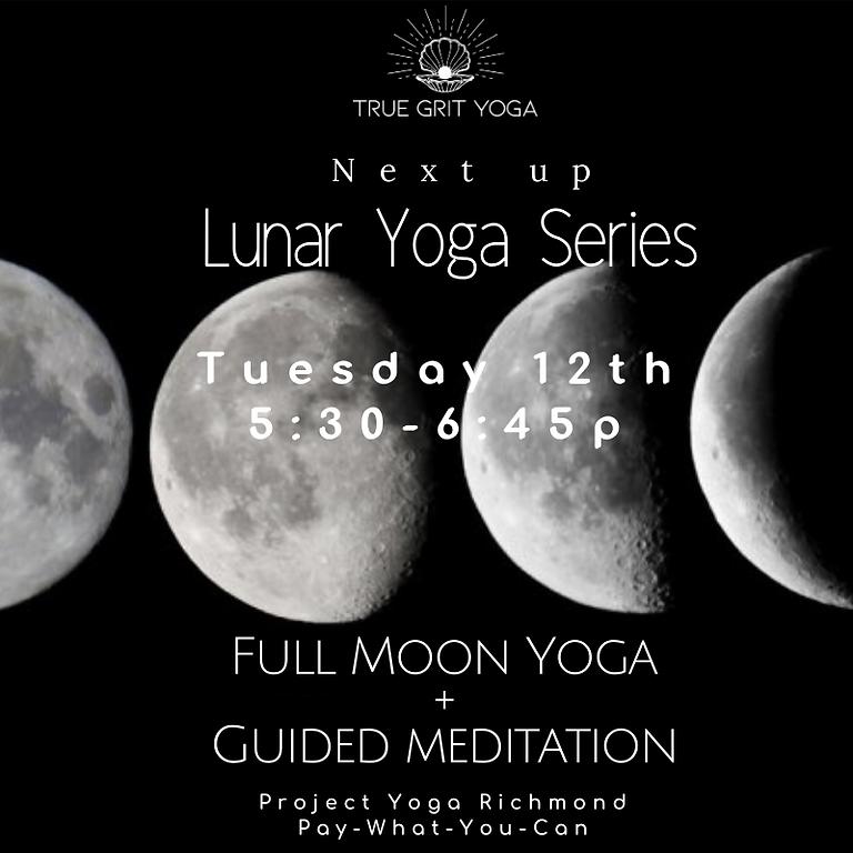 Lunar Yoga: December Full Moon