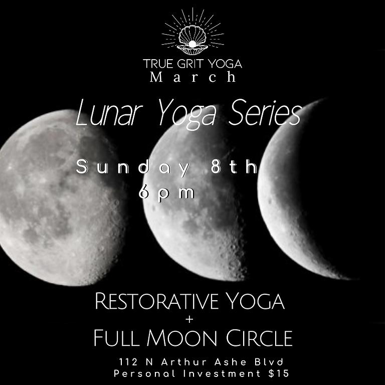 Lunar Yoga: March Full Moon