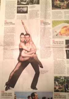 NY TIMES - THE WEEK AHEAD - FJK DANCE