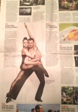 NY TIMES - THE WEEK AHEAD - FJK DANCE