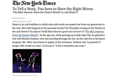 NY TIMES GIA KOURLAS reviews HORSES MOUTH- MEN DANCERS