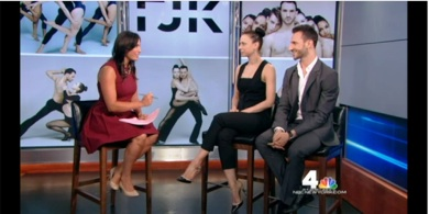FJK Dance on news 4 NY- 6