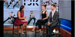 FJK Dance on news 4 NY- 6