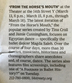 NY Times March 9, 2018