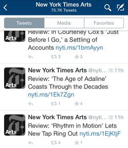 Rhythm in Motion listing - NYTimes