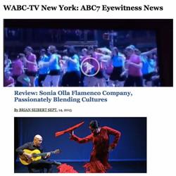 NYTimes-Sonia Olla Flamenco/Tap City