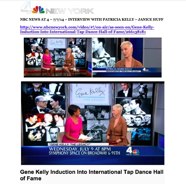 Patricia Kelly interviewed NBC-TV