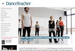 Dance Gallery Festival profile - Dance Teacher Magazine