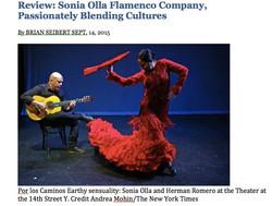 SONIA OLLA FLAMENCO - NY TIMES