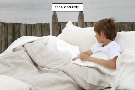 LIBECO Heritage Organic bed linens