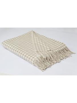 SIMPLY BIRCH Houndstooth Merino wool thr