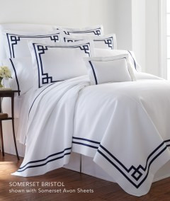 LLEGACY HOME Somerset Collection Bristol bed linens