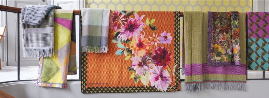 DESIGNERS GUILD assorted throws