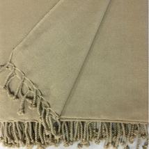 ANICHINI Chodron 2-Ply Twill Weave cashmere throw