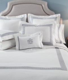 LEGACY HOME Duet Collection Alexia sheet set & coverlet