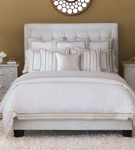 EASTERN ACCENTS Watermill Taupe bed linens