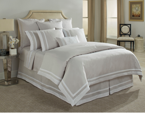 HOME TREASURES Savoy bed linens