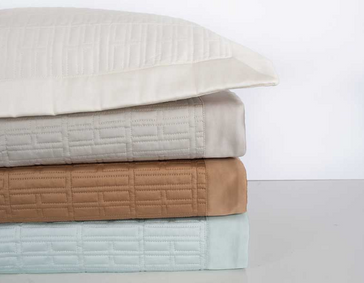 HOME TREASURES Sydney quilted coverlet