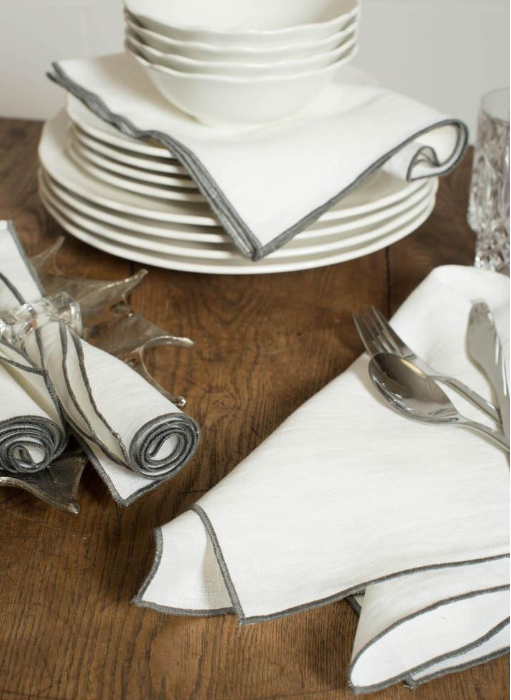 LINEN WAY Duet napkins